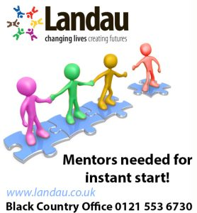 Mentors Wanted immediate start
