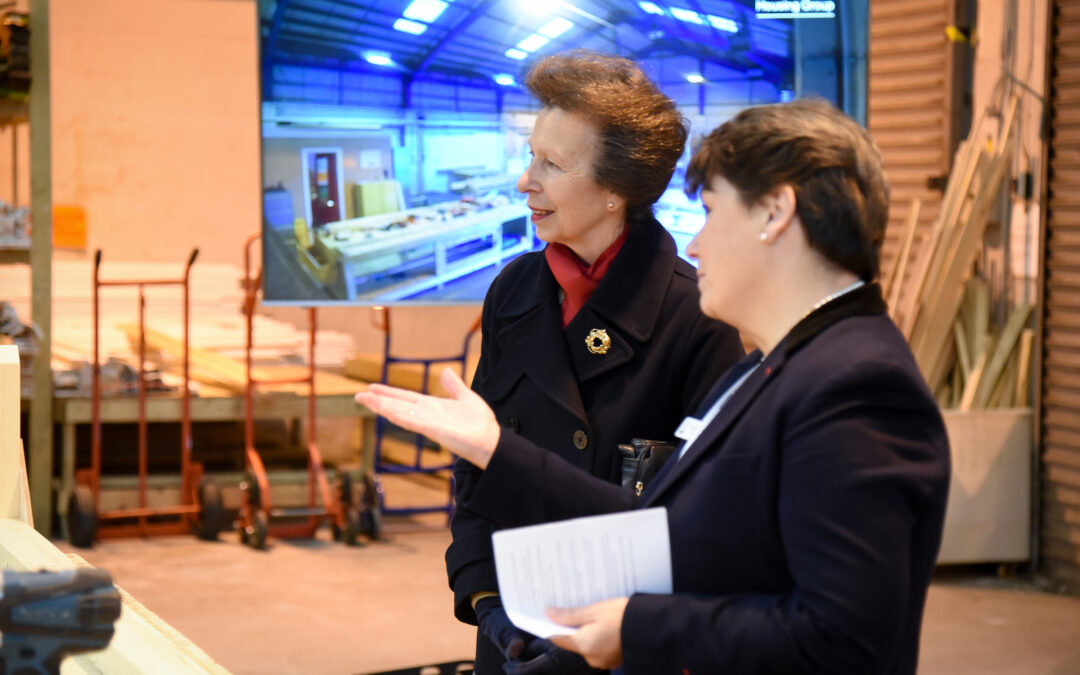 Princess Anne Royal Visit