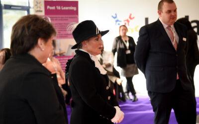 High Sherriff of Shropshire visit to celebrate Landau's 25th anniversary